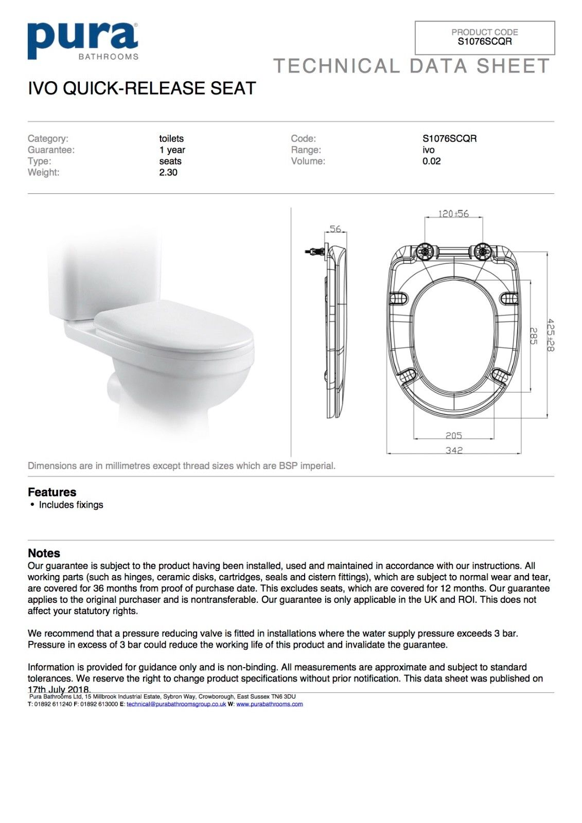 Ideal Standard Frame Pura Bathrooms Ivo Wall Hung Toilet