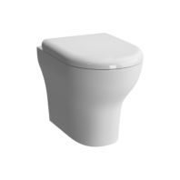 Vitra Zentrum Back To Wall Wc Pan With Soft Close Seat