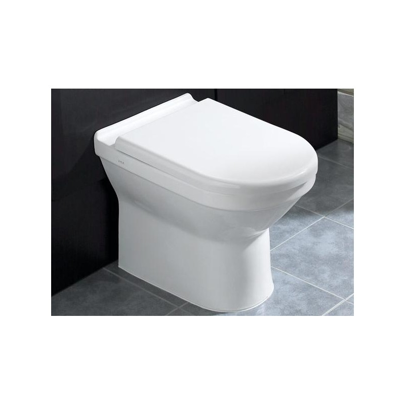 Vitra S50 Back To Wall Wc Pan With Soft Close Seat