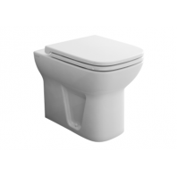 Vitra S20 Back To Wall Wc Pan With Soft Close Seat