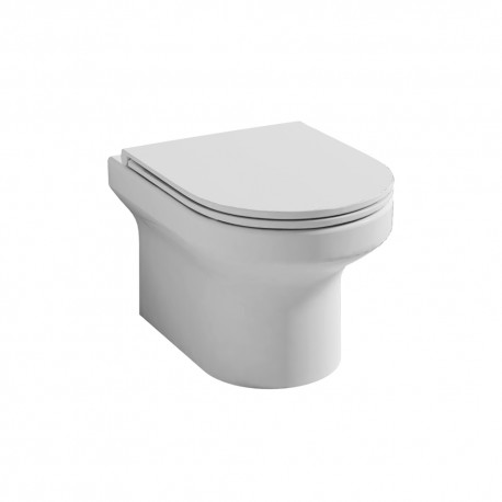 Alma Rimless Wall Hung WC bowl with Concealed fixings