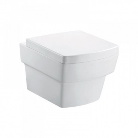Bloque wall-hung wc bowl and quick-release seat