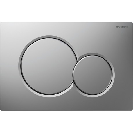 GEBERIT SIGMA01 FLUSH PLATE CHROME MATT UP320