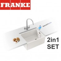 Belfast BAK 710 Ceramic sink & Athena Chrome tap