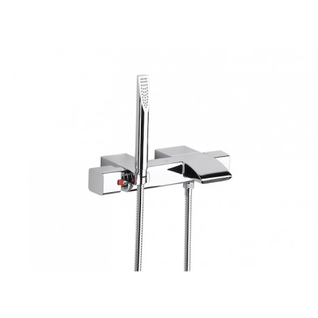 Roca Thesis Thermostatic Wall Mounted Bath Shower Mixer