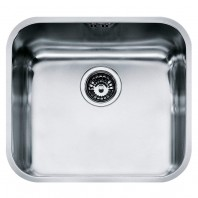 Franke Galassia GAX 110-45 Stainless Steel Silk Kitchen Sink with Single Bowl