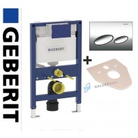 Geberit Duofix Kappa Up200 Wc Toilet Cistern 820mm+flush Plate + Brackets + Wc Bend