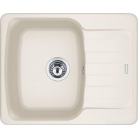 Franke Antea AZG 611-62 1.0 Bowl Fragranite Inset Sink Creme