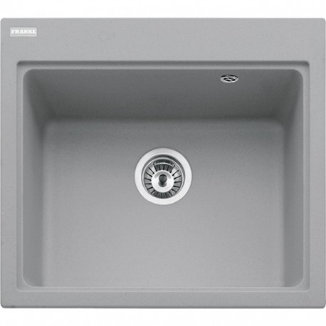 Franke Fiji FIG 610-58 1.0 Bowl Fragranite Inset Sink Stone Grey
