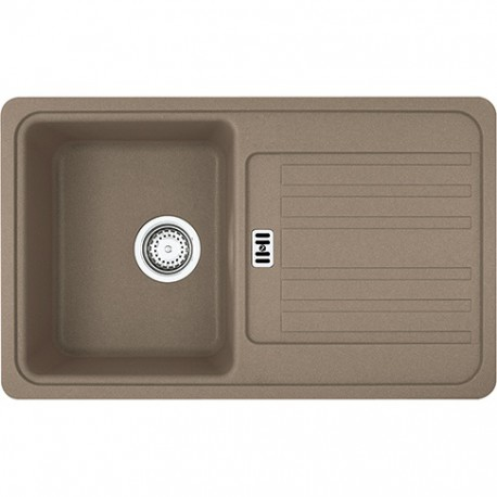 Franke Euroform EFG 614-78 1.0 Bowl Fragranite Inset Sink Cream