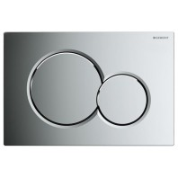 Geberit Sigma01 Flush Plate Chrome Up320
